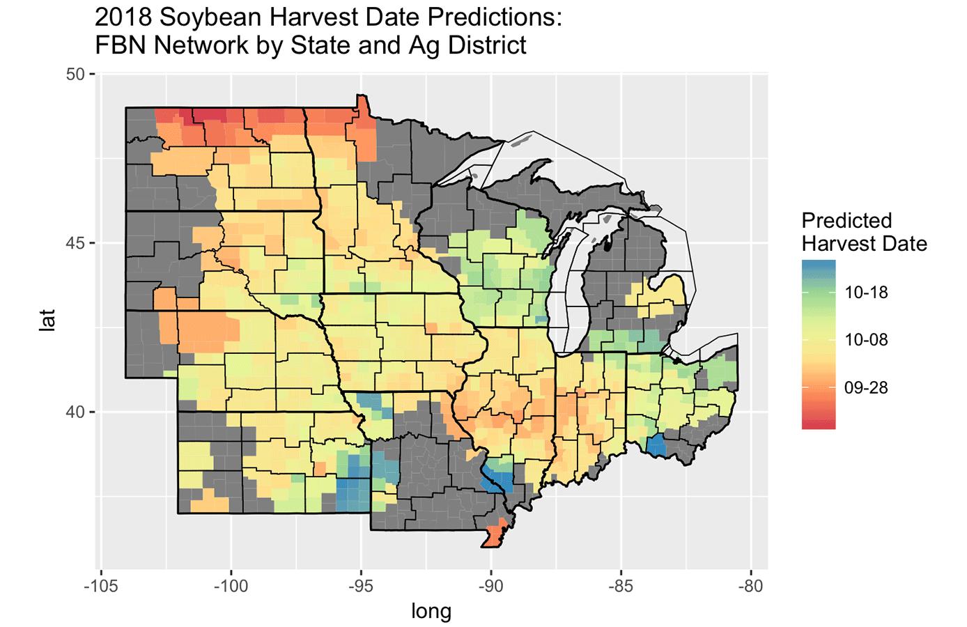soybean harvest prediction dseta