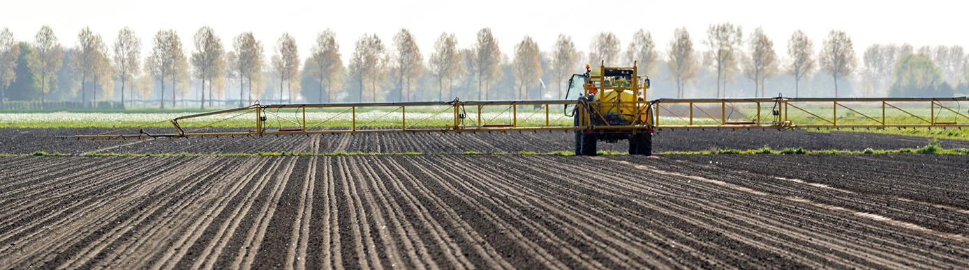 herbicide spraying