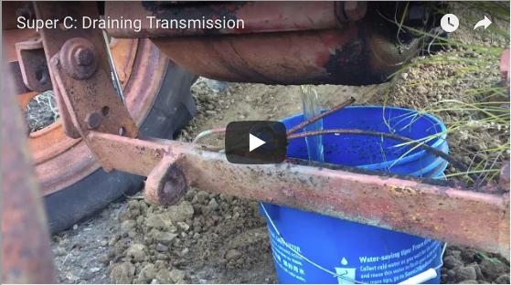 Super C Draining Transmission